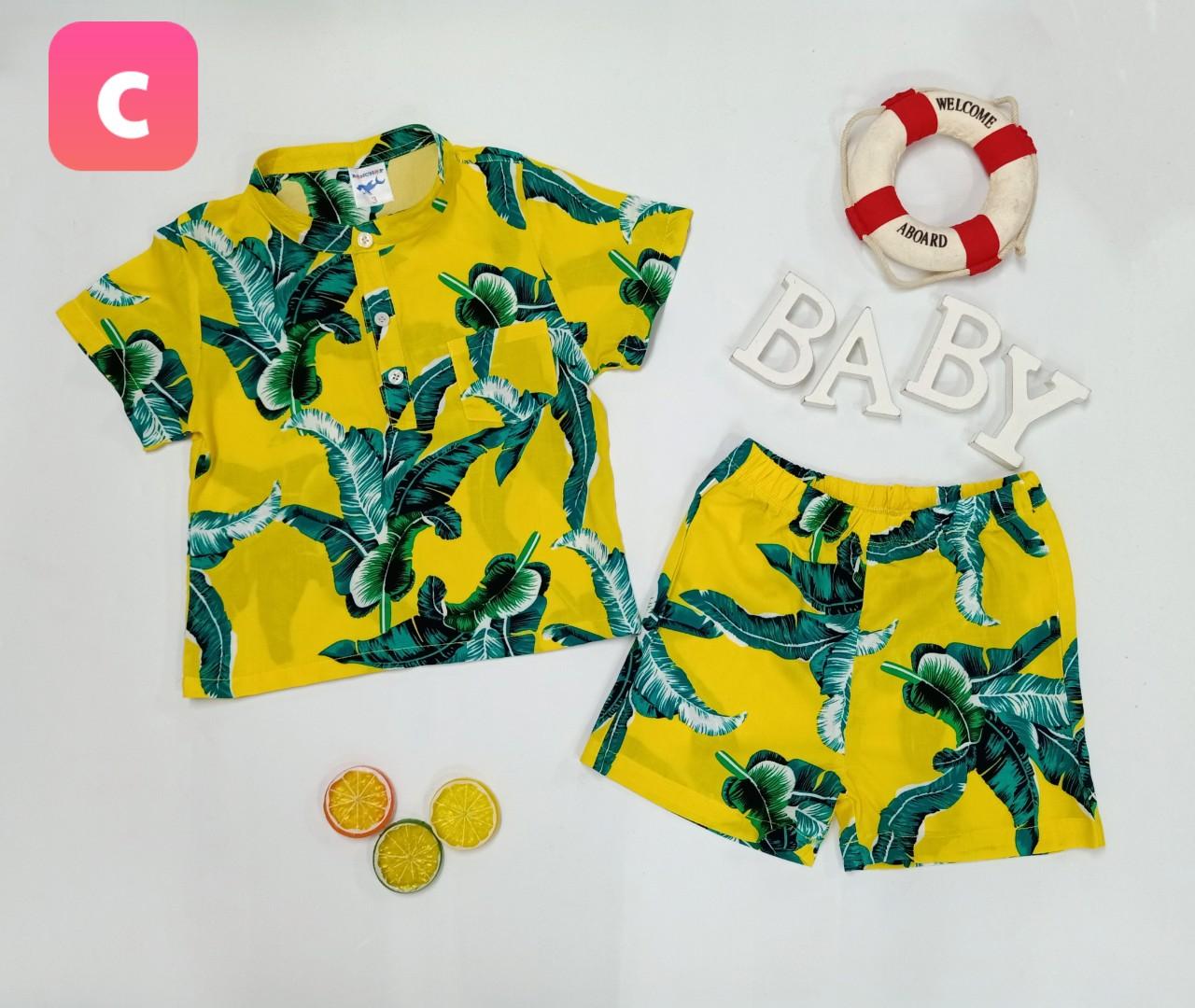 BỘ Pijama TRÁI CÂY SUMMER-C