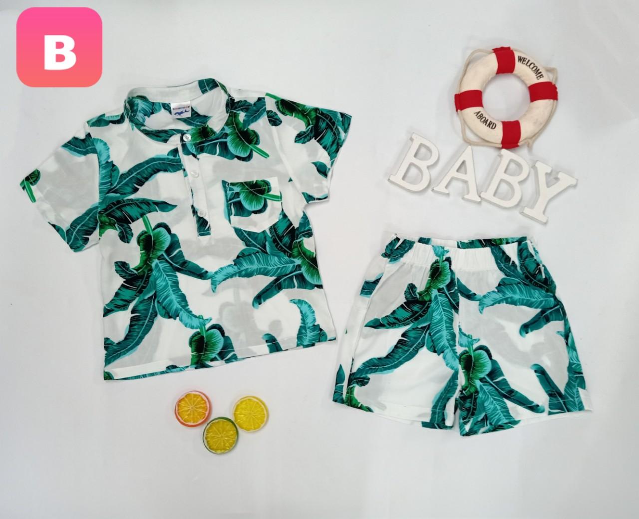 BỘ Pijama TRÁI CÂY SUMMER-B