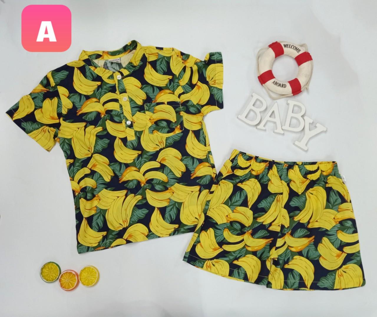 BỘ Pijama TRÁI CÂY SUMMER-A