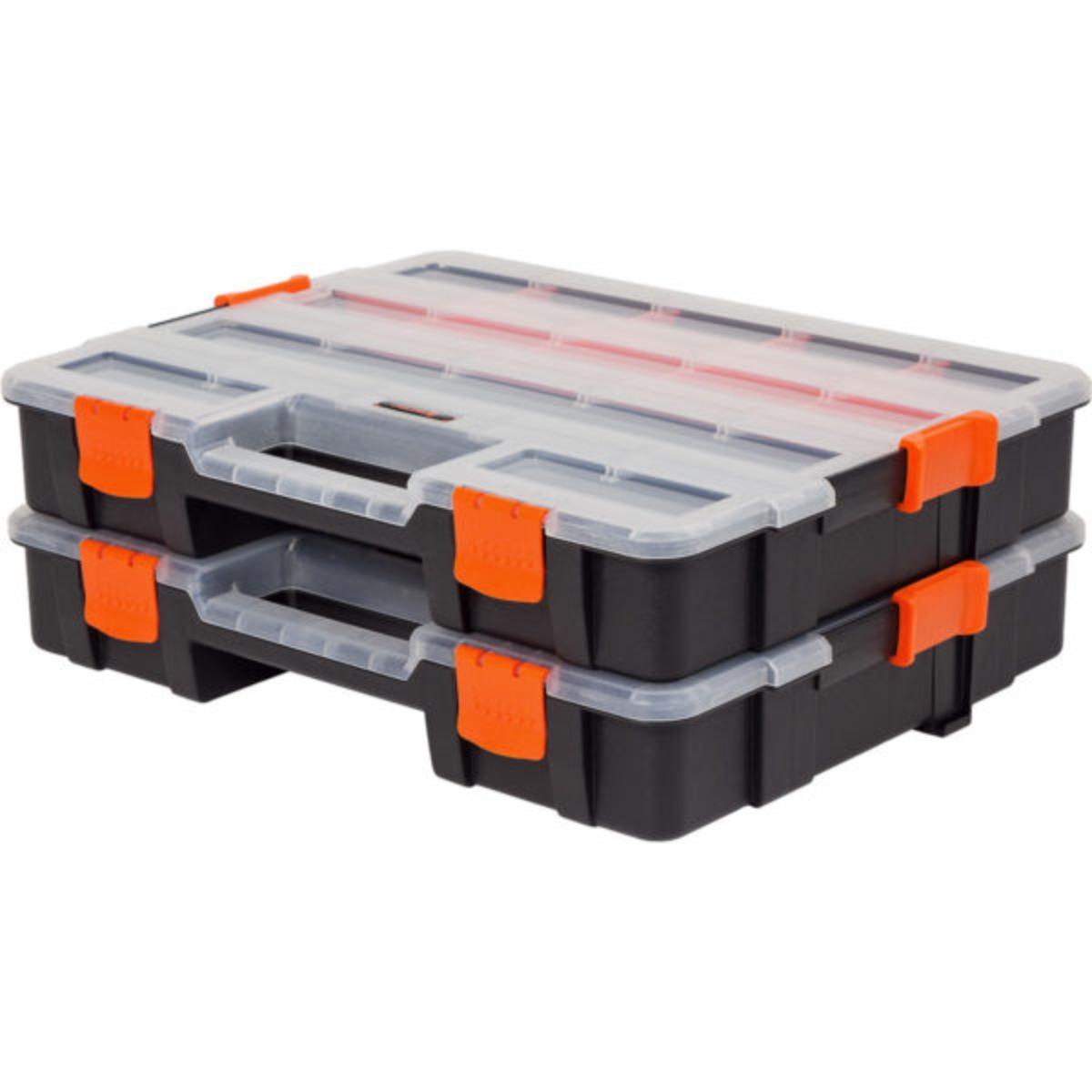Hộp phân loại linh kiện 2 hộp liên kết TACTIX 320034