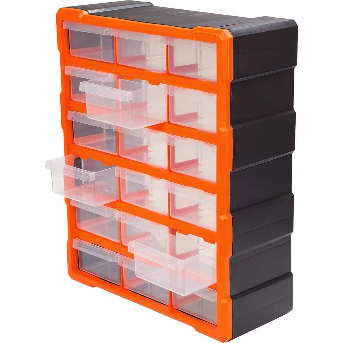Tủ đựng linh kiện 18 ngăn TACTIX 320634#