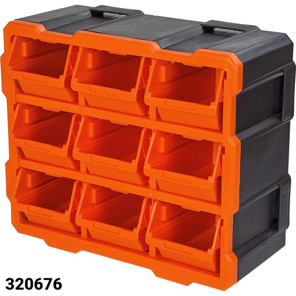 Tủ đựng linh kiện 9 ngăn TACTIX 320676#