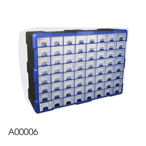 Tủ đựng linh kiện 64 ngăn mã A006