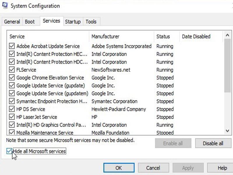 Cách sửa lỗi Màn Hình Laptop bị Đen (không hiển thị - màn hình đen)