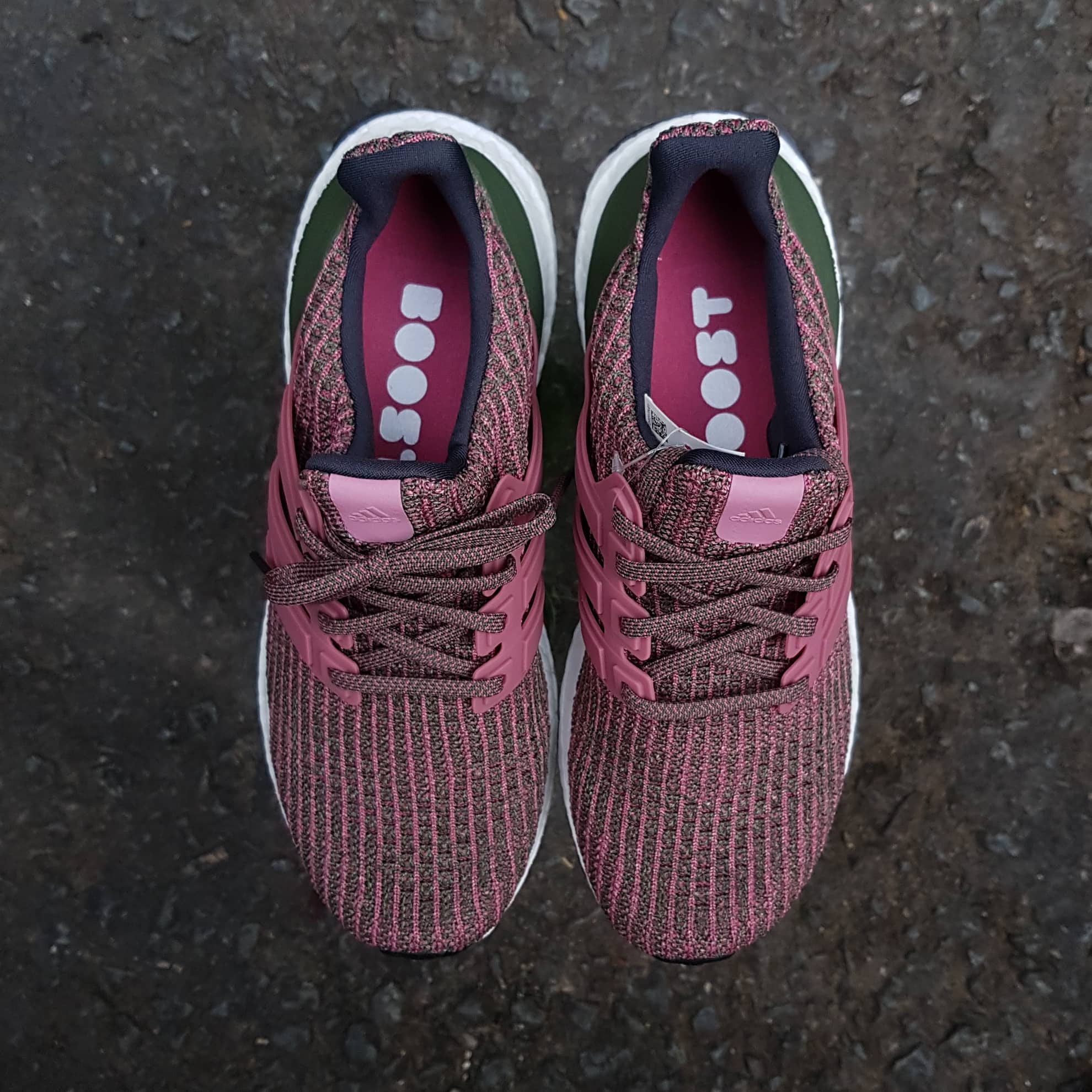 5b239ecdc618c adidas WMNS ULTRA BOOST 4.0  PINK OLIVE  – Sneakerzone Shop