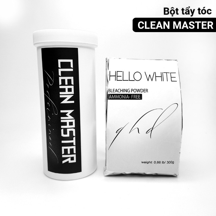 BỘT TẨY cao cấp Clean Master - Hello White