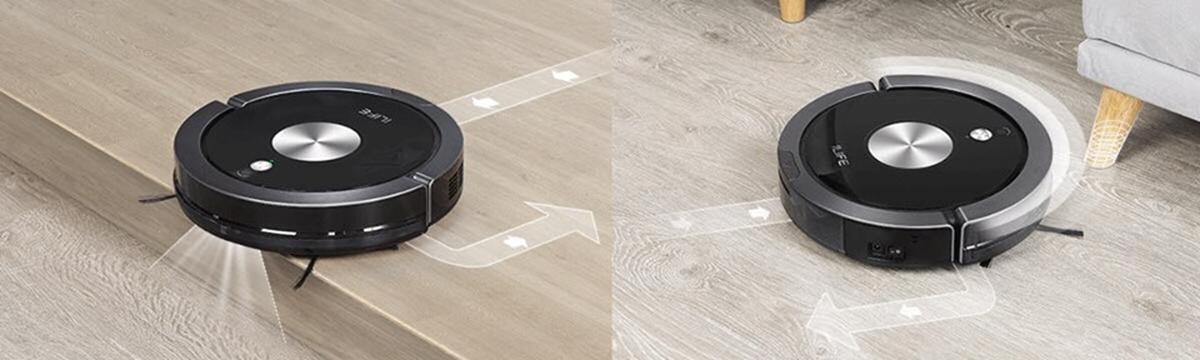 cảm biến mạnh chống rơi chống va đập robot ilife x800