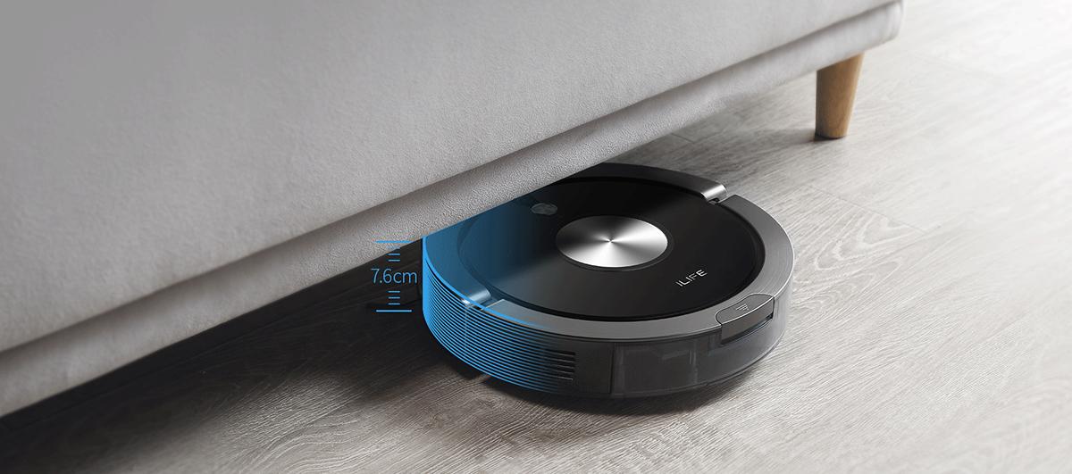 Hoạt động dễ dàng robot ilife x800