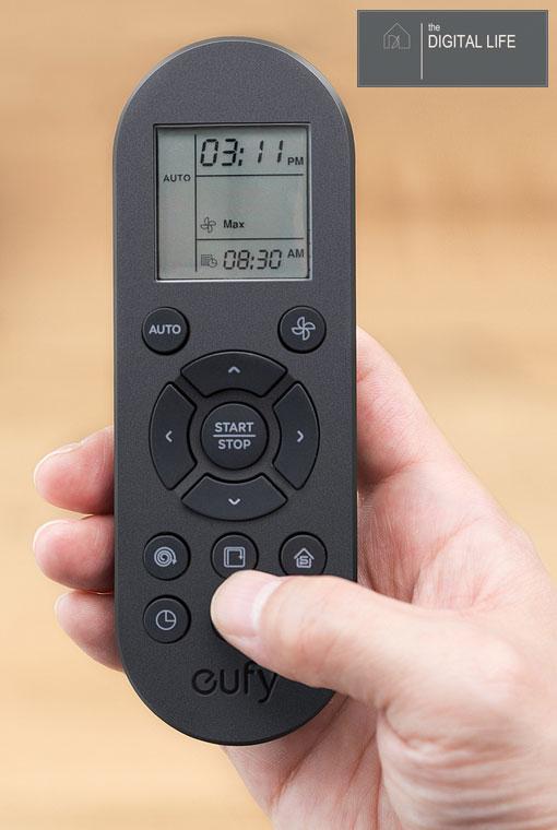 remote robot hút bụi eufy robovac 11s