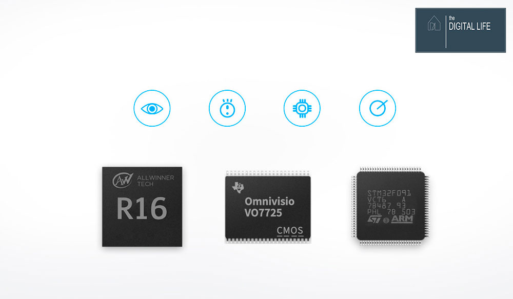 bộ ba chip xử lý của ILIFE A8