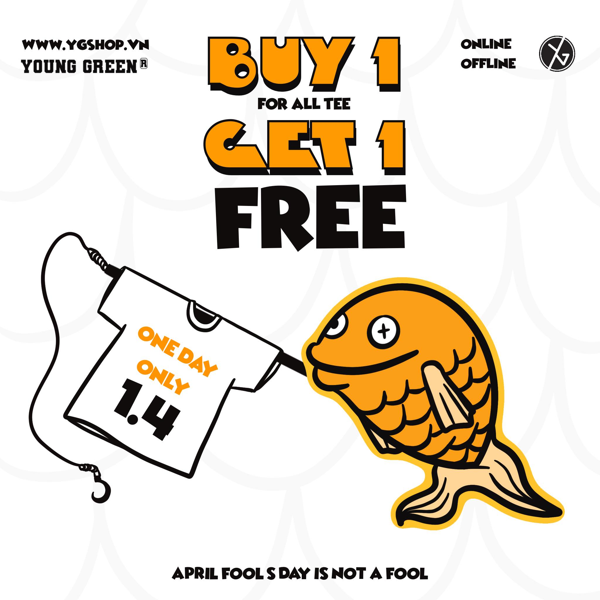 NOW OR NEVER - BUY 1 GET 1 FREE