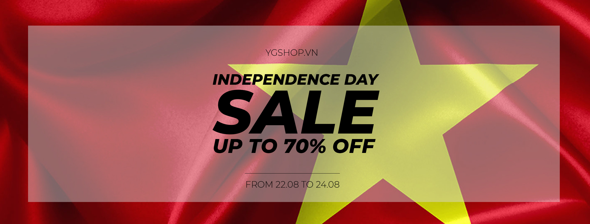 INDEPENDENCE SALE – UPTO 70% OFF