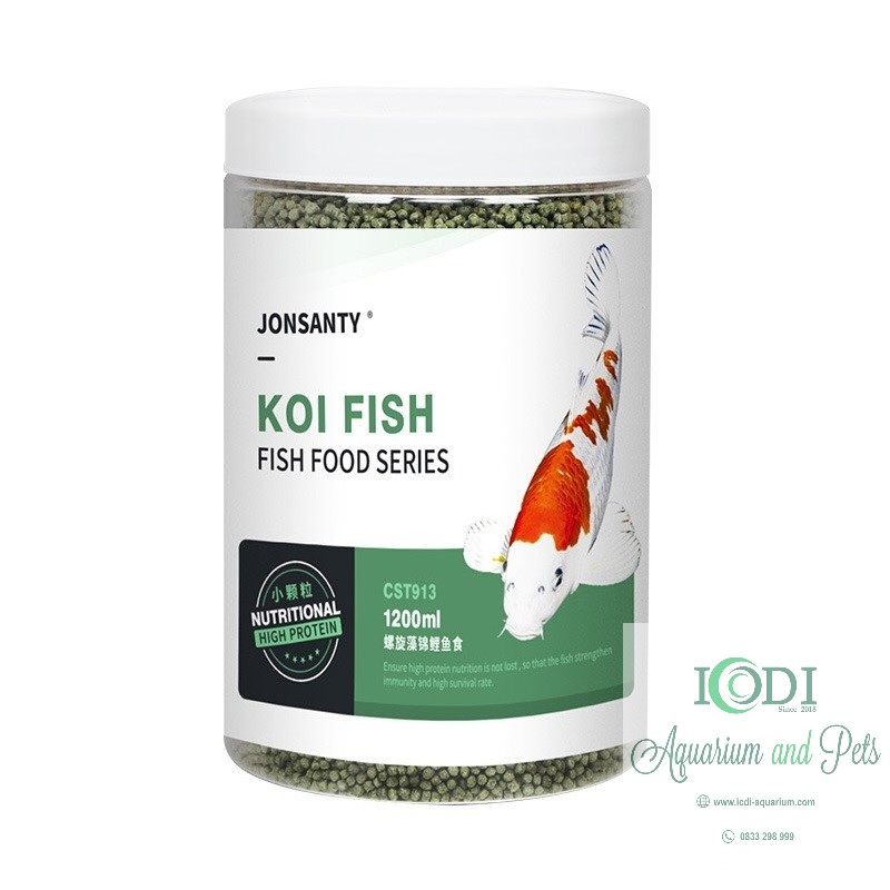thuc-an-ca-koi-jonsanty-koi-fish-food-series