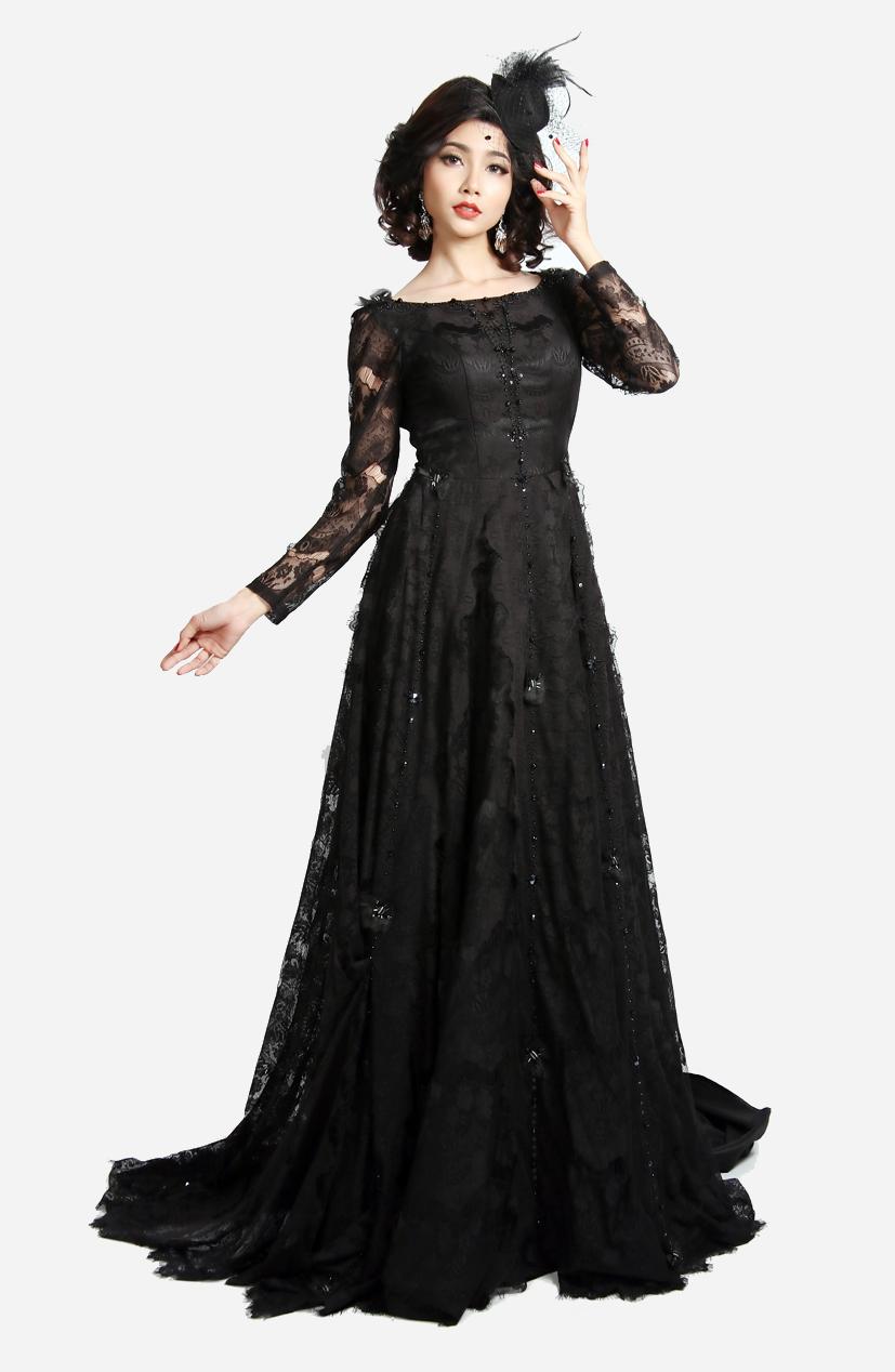 Đầm dạ hội Sensorial DRM0306-04