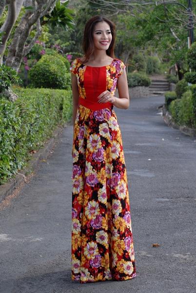 Đầm dạ hội Sensorial DRP0191-09