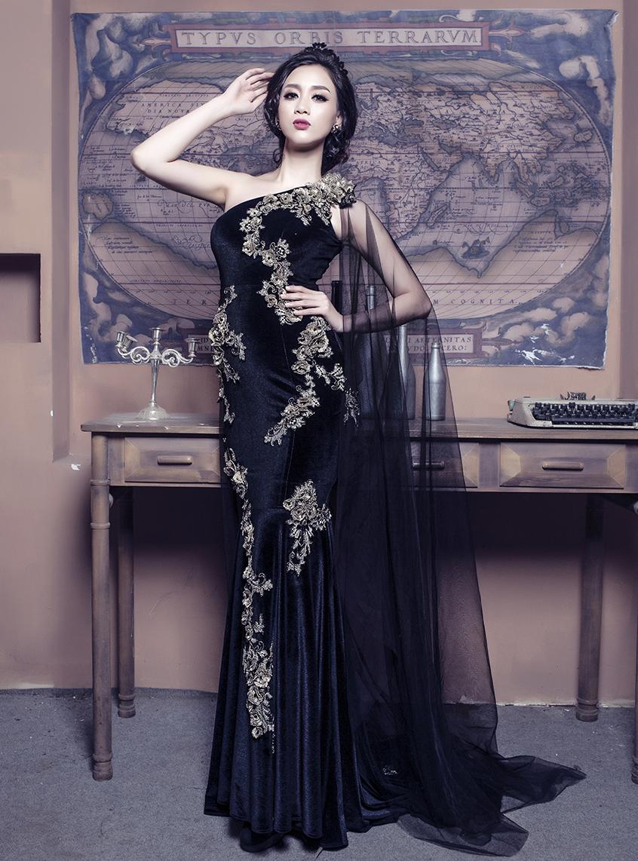 Đầm dạ hội Sensorial DRP0233-04