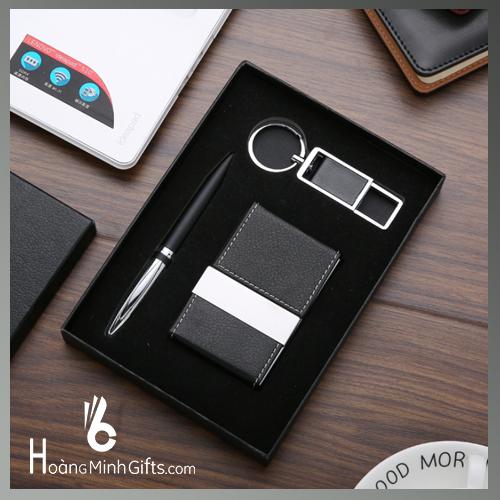 bo-qua-tang-3-sp-hop-namecard-but-ky-moc-khoa-hm012-2019
