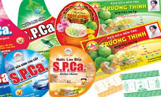 Nhãn decal nhựa dùng dán sản phẩm là dung dịch tẩy rửa