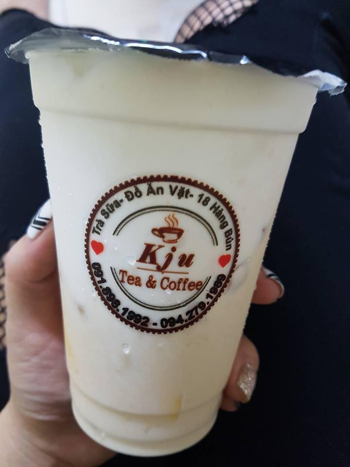 Tem decal nhựa trong dùng cho sản phầm đồ uống trà sữa