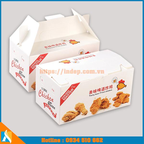 Hộp giấy đựng đồ ăn của KFC