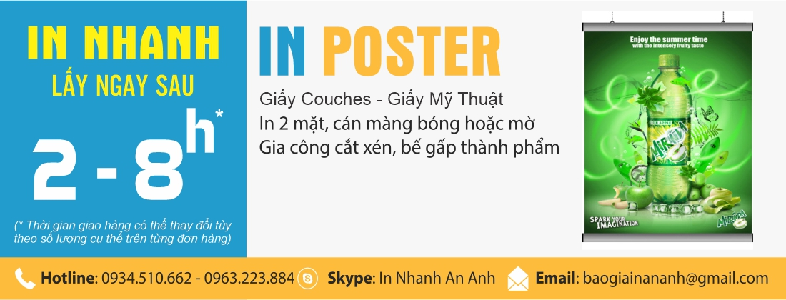 In poster đẹp in poster nhanh lấy ngay tại anpic