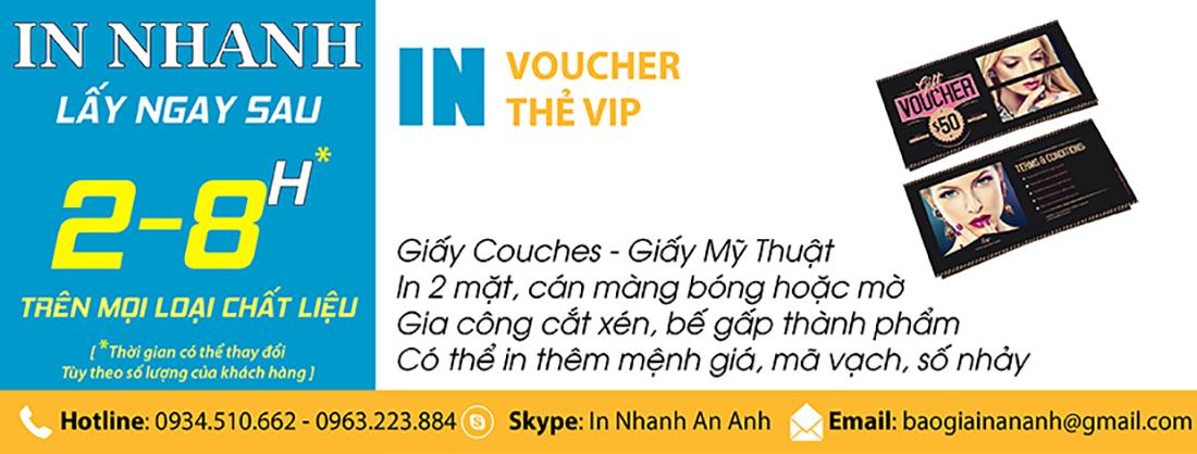 www.123nhanh.com: In Voucher Đẹp, Giá Rẻ, Đảm Bảo Chất Lượng Tại Anpic