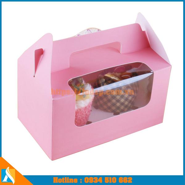 hộp giấy đựng bánh ngọt, bánh kem