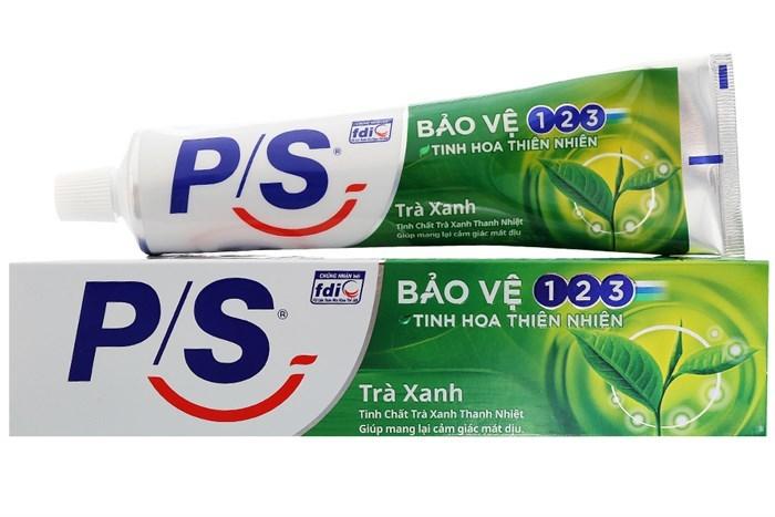 hộp giấy sản phẩm kem đánh răng ps