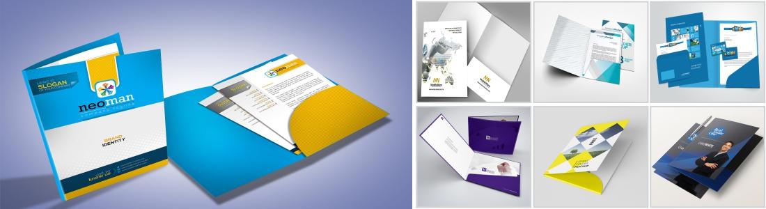 thiết kế in ấn kẹp file