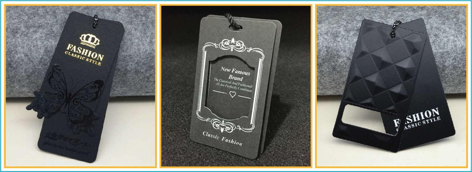 mẫu thẻ tag dành cho quần áo thời trang