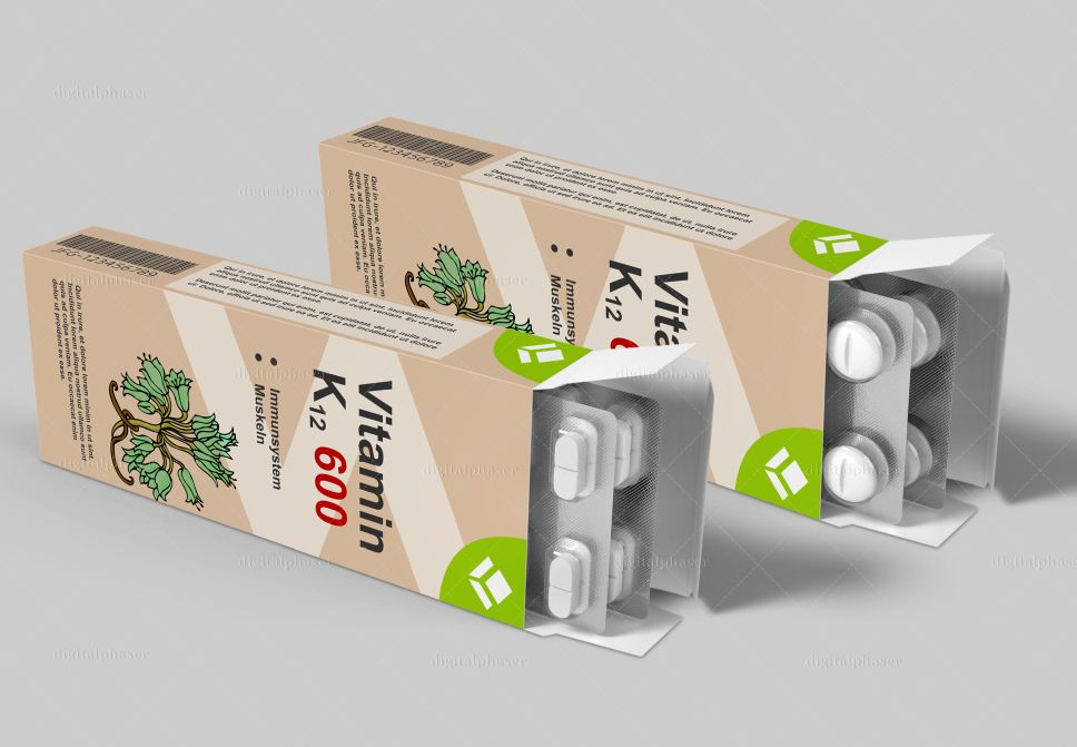 mẫu thiết kế hộp giấy đựng dược phẩm
