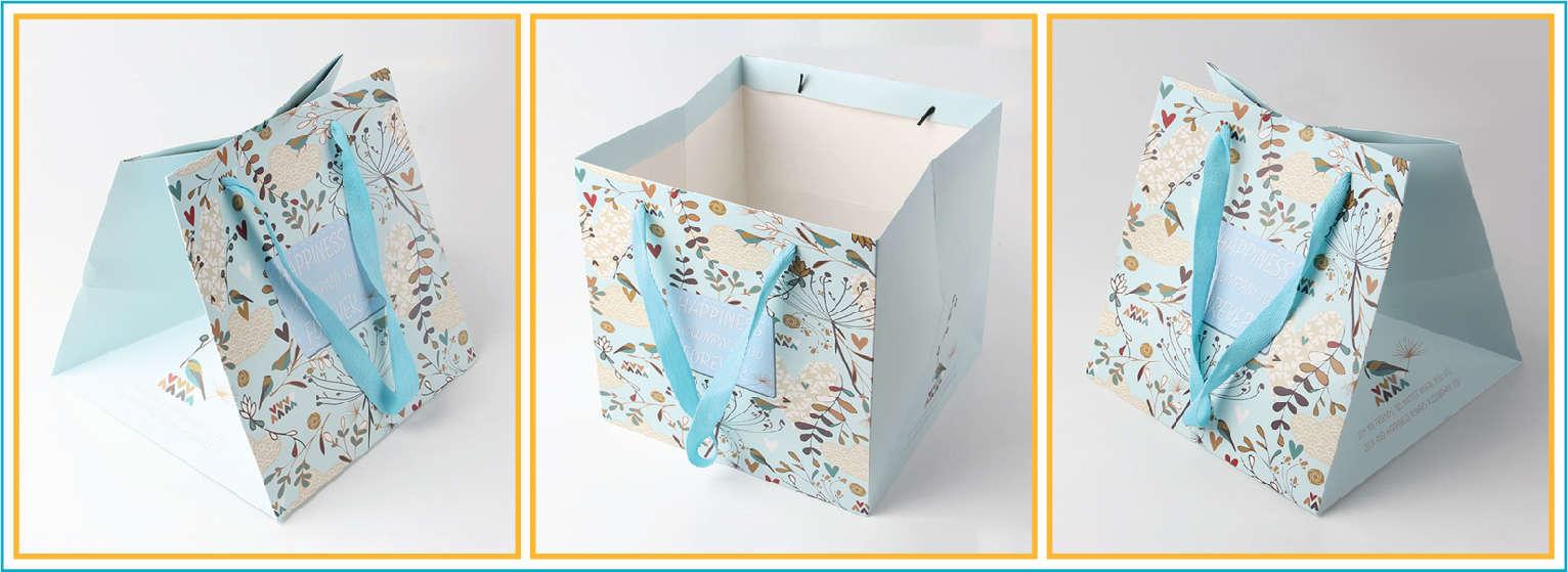 thiết kế túi xách giấy thời trang đẹp