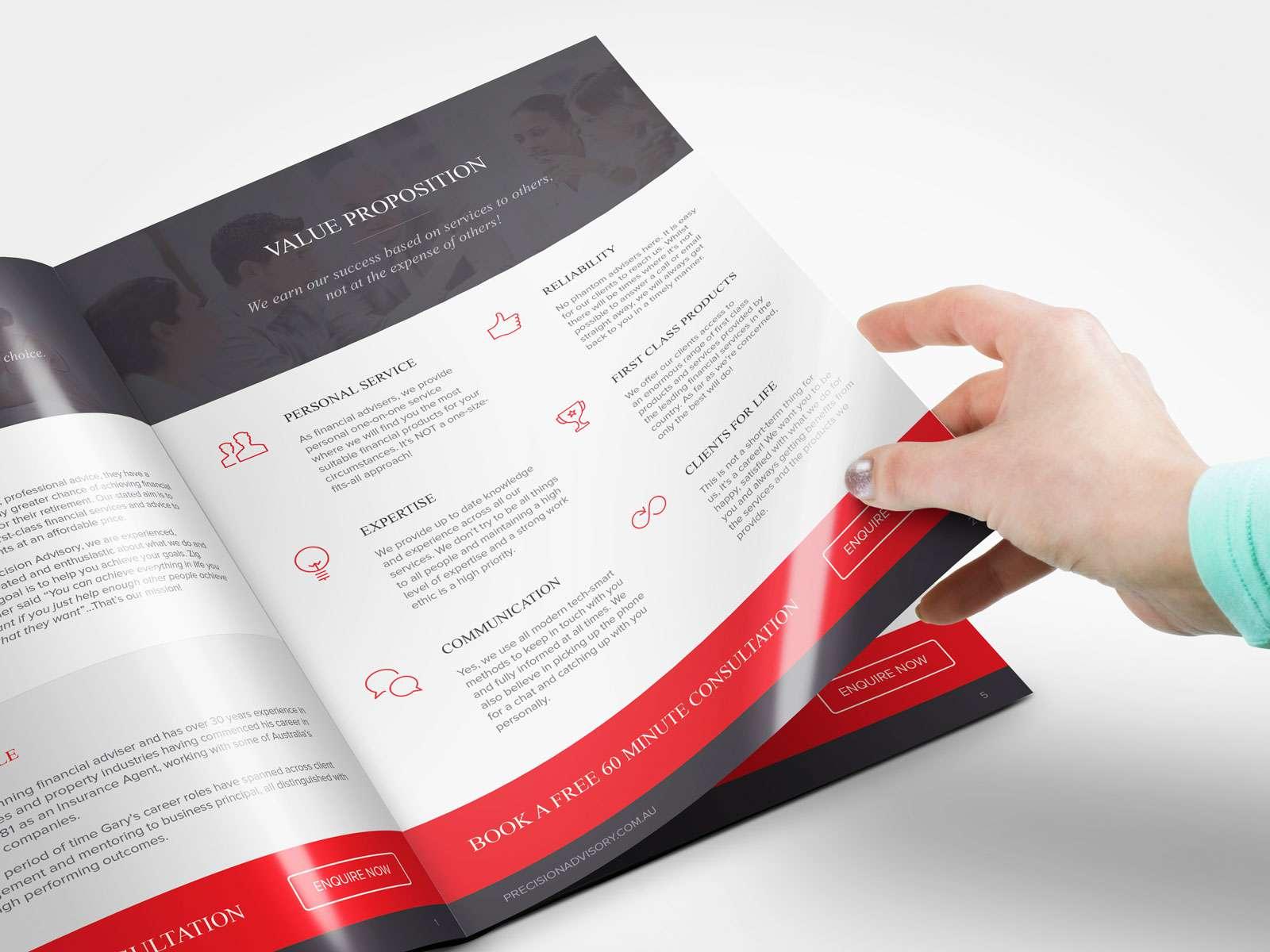 Nâng tầm start up bằng tuyệt chiêu in ấn Profile cực đơn giản