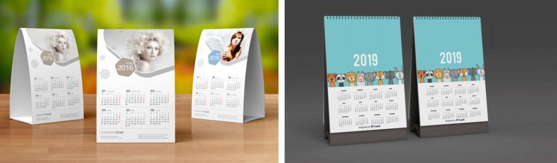 Âm thầm động viên nhân viên và khách hàng bằng hình ảnh in ấn trên lịch tết, tại sao không?