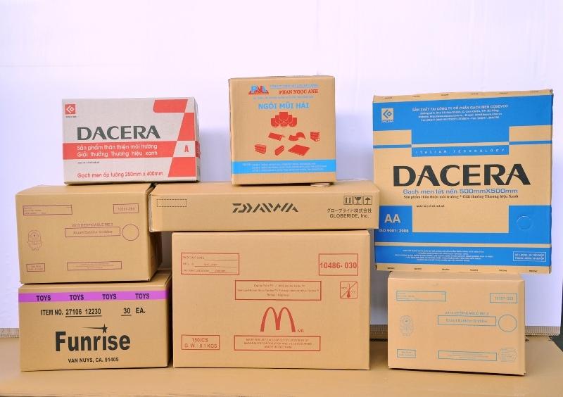 thùng carton bồi duplex