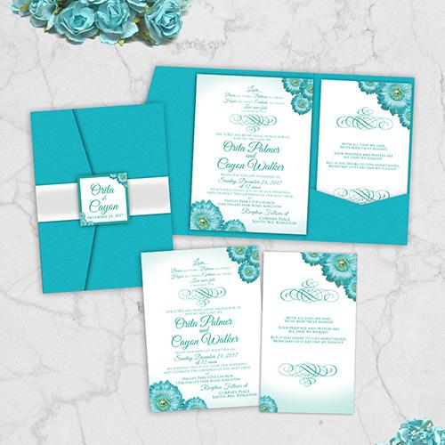 In ấn thiệp mời đám cưới độc đáo