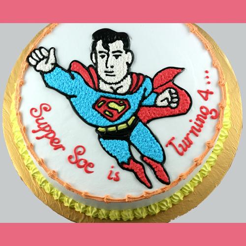 banh-sinh-nhat-sieu-nhan-superman