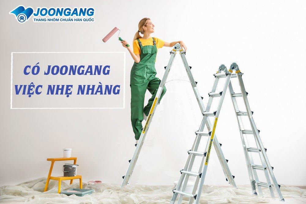 Những lưu ý khi mua thang nhôm Hàn quốc online tại Hà nội