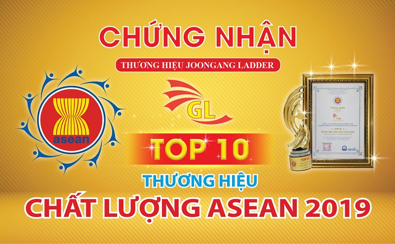 Thang nhôm Joongang vào Top 10 nhãn hiệu chất lượng Asean năm 2019