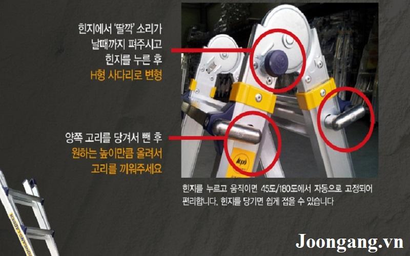 Thang nhôm Hàn quốc Joongang 4