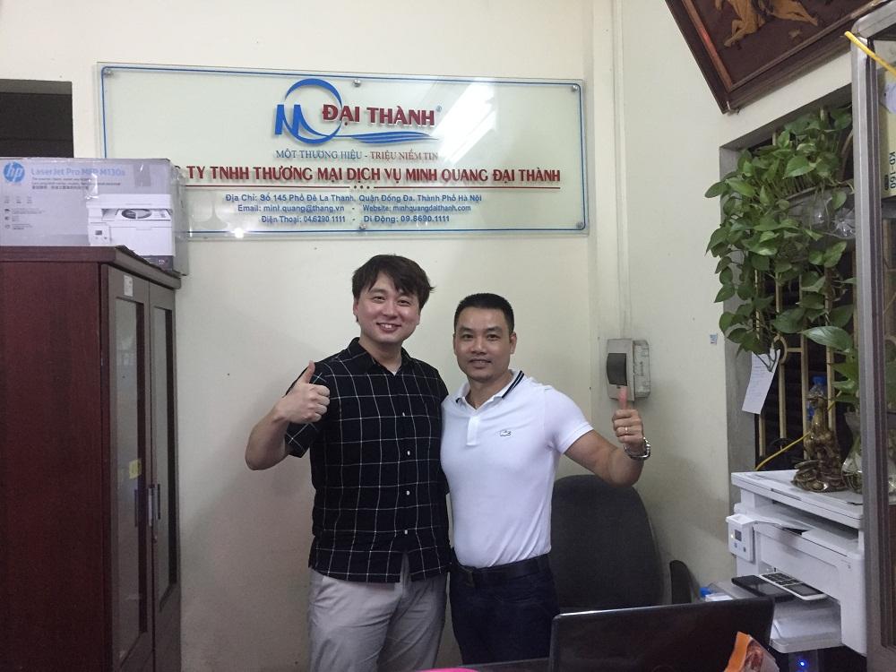 10 năm phát triển của thang nhôm Joongang Hàn quốc tại Việt nam