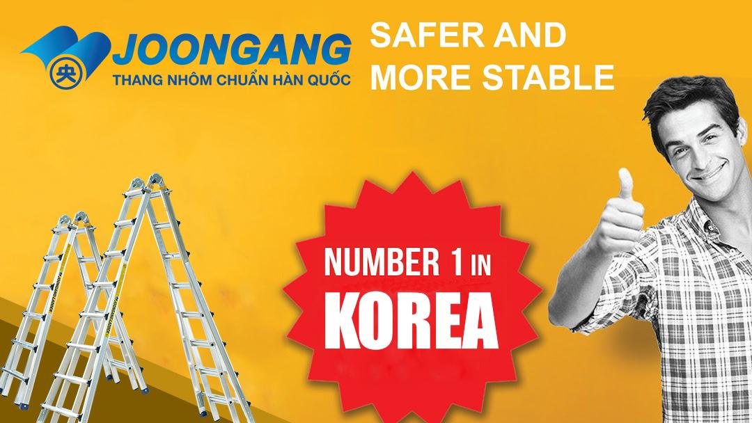 Thang nhôm Joongang Hàn quốc