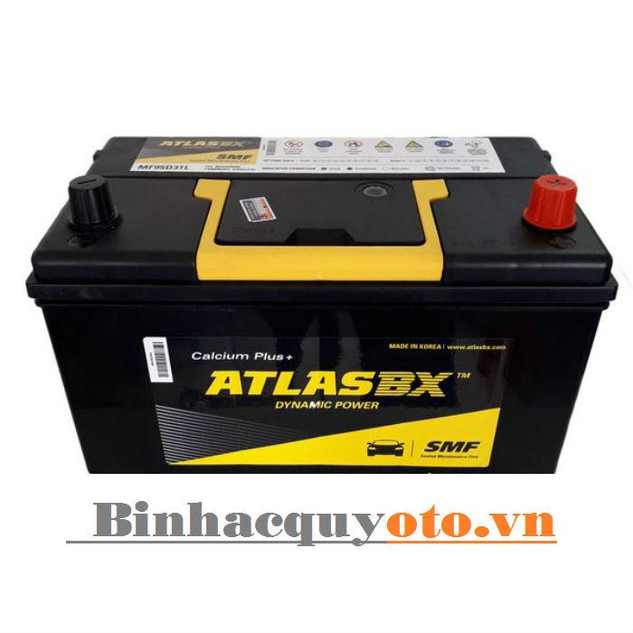 Ắc quy Atlasbx MF 95D31L (12V - 80Ah)