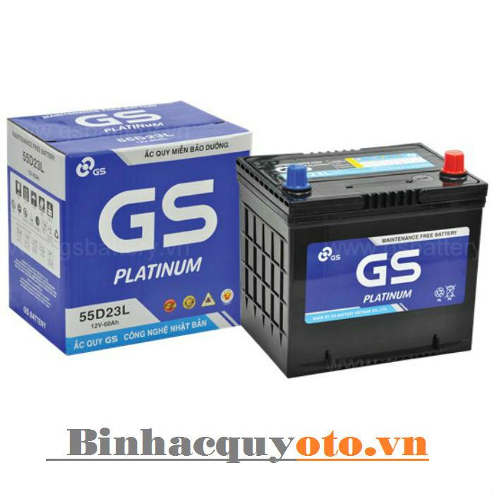 Ắc quy GS MF 55D23L (12V - 60Ah)