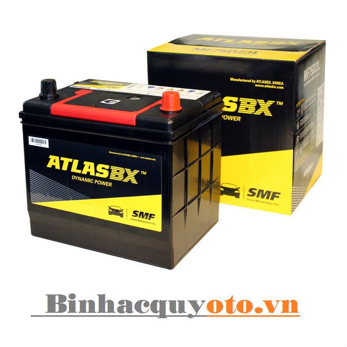 Ăc quy Atlasbx MF 55D23L (12V - 60Ah)