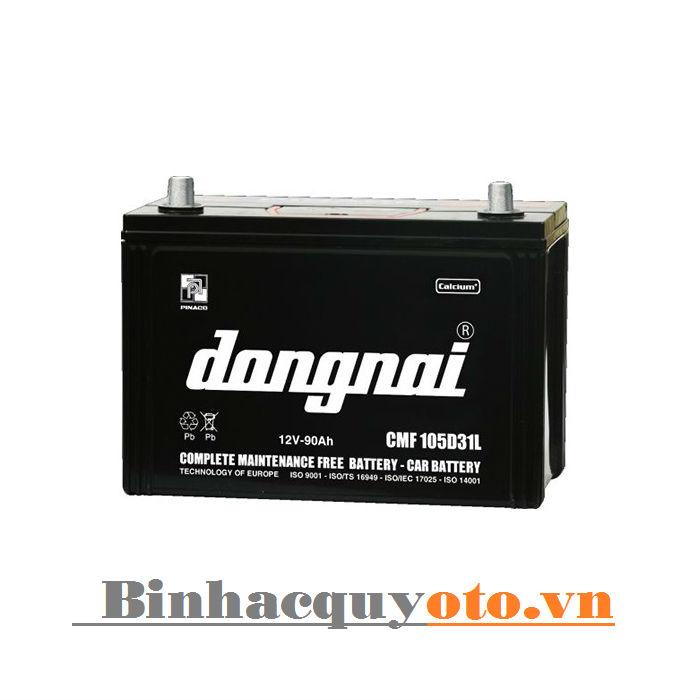 Ắc quy Đồng Nai CMF 105D31L (12V - 90Ah)