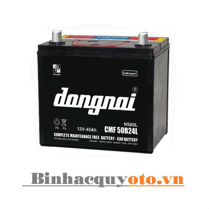 Ắc quy Đồng Nai CMF 50B24L (12V - 45Ah)