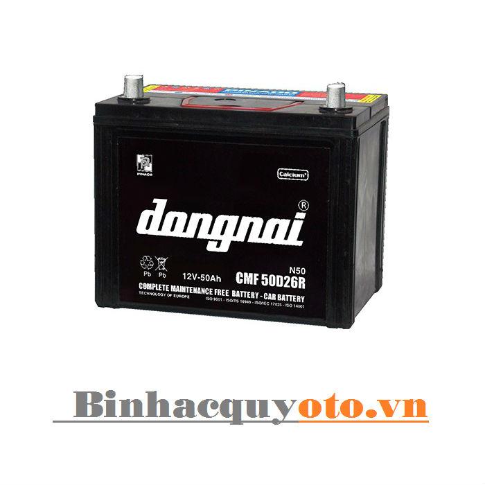 Ắc quy Đồng Nai CMF 50D26 (12V - 50Ah)