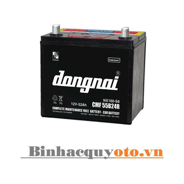 Ắc quy Đồng Nai CMF 55B24 (12V - 52Ah)