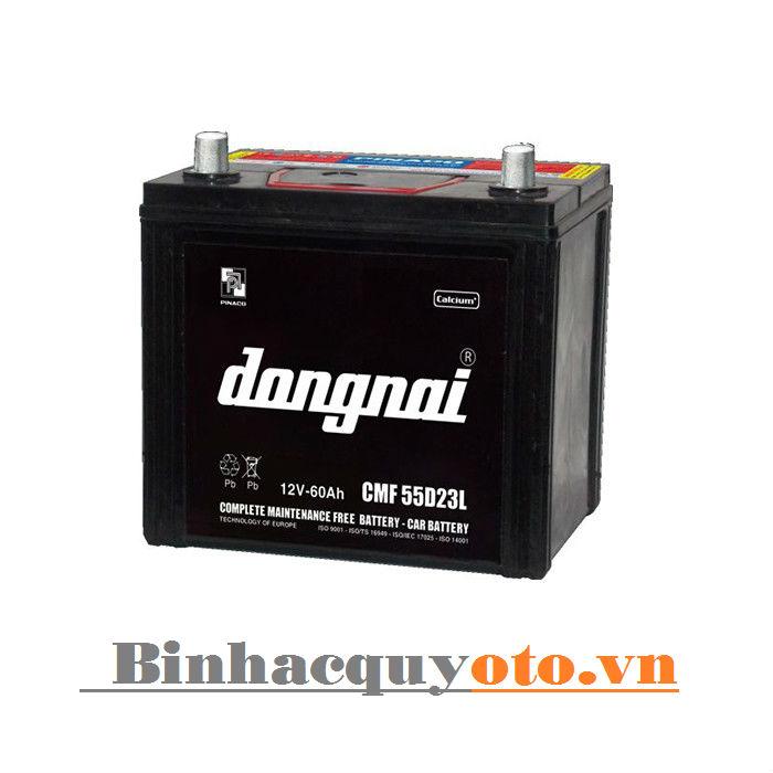Ắc quy Đồng Nai CMF 55D23L (12V - 60Ah)